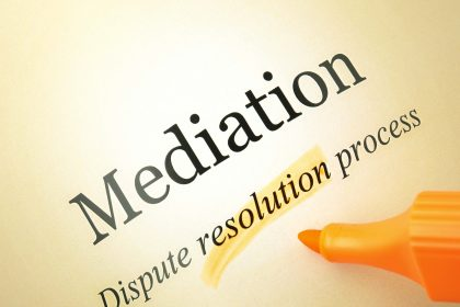 picture of text - mediation